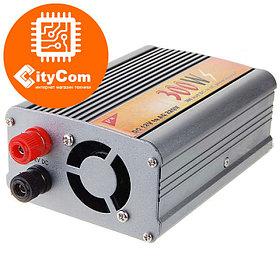 Инвертор (преобразователь) автомобильный 300W, DC 12V to AC 220V с 12в до 220в для питания различных устройств