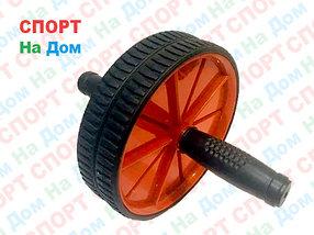 Ролик для пресса 2 колесика (цвет красный)