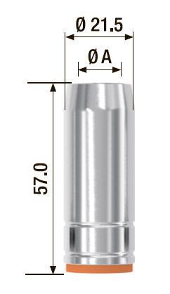Газовое сопло FUBAG  D= 18.0 мм FB 250