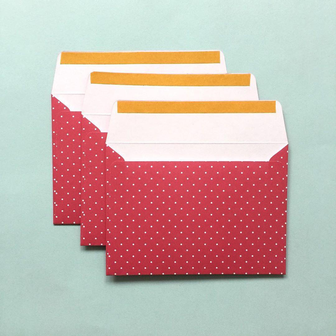 Подарочные конверты 11*15 см