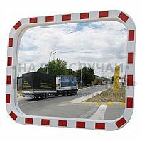 Зеркало уличное прямоугольное с окантовкой 400х600мм