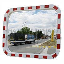 Зеркало уличное прямоугольное с окантовкой 600х800мм