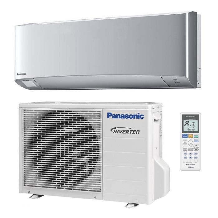 Кондиционер Panasonic CS/CU-XZ35TKE серия Etherea Inverter  Silver