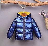 Детская осенняя куртка от 6 до 11 лет для девочек.