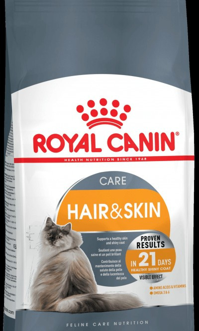Сухой корм для кошек Роял Канин (здоровье кожи и шерсти)