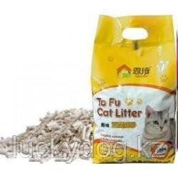 To Fu 6L (2,5кг) без аромата Наполнитель соевый для кошекТОФУ натурал