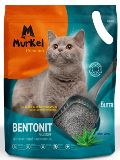 Murkel 10л Алоэ Вера (круглый) комкующийся туалетный наполнитель для кошек, 8кг