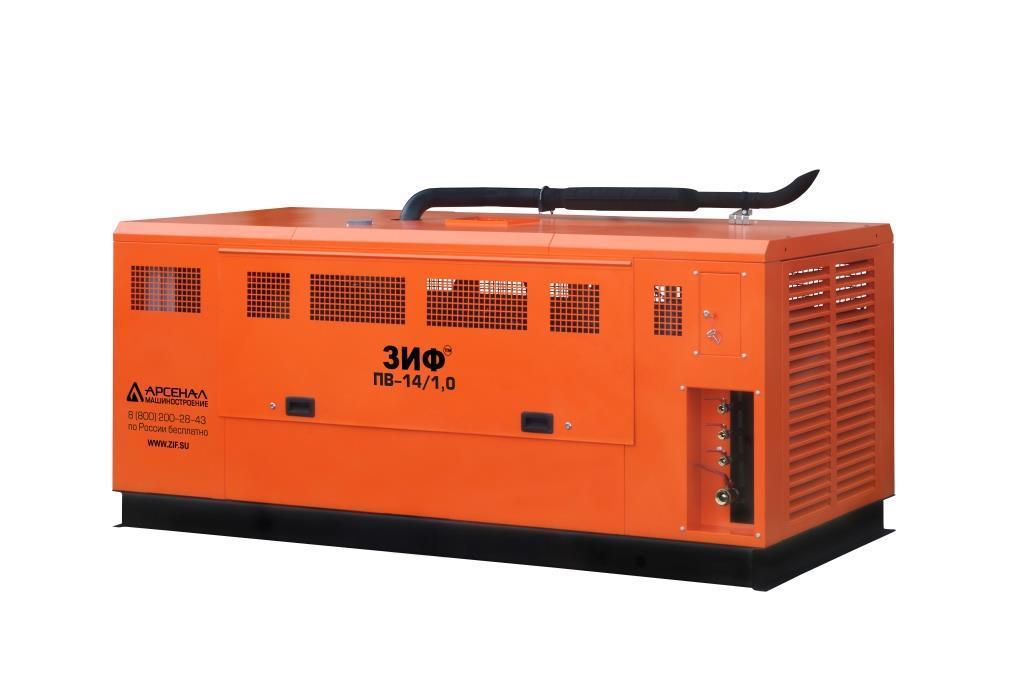 ЗИФ Станция компрессорная передвижная дизельная ЗИФ-ПВ-16/0,7 (ЯМЗ) на раме
