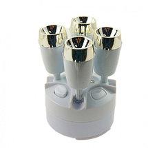 Лампа-трансформер кемпинговая светодиодная Multifunctional emergency lamp JY-1578A, фото 3