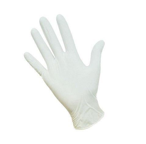 Перчатки латексные опудрен. тонкие  размер XL, 100 шт, фото 2