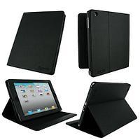 Чехол на планшет rooCASE Multi-Angle Vegan Leather Case Cover (rc-ipd2-ma-bk)