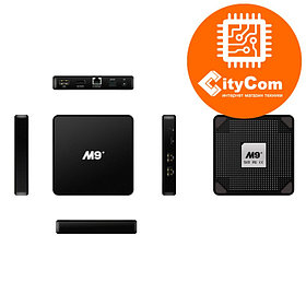 Приставка Android TV box к телевизору, ОС Андроид ТВ  Mini PC M9+, поддержка 4К Арт.4372