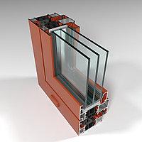 Фасадная алюминиевая система с терморазрывом СИАЛ КПТ70