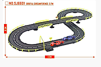 Автотрек, гонки 2 машинки