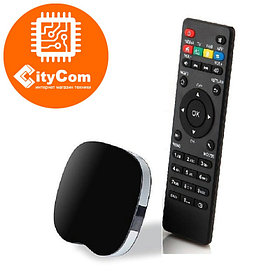 Приставка Android TV box к телевизору, ОС Андроид ТВ  AT-758Q Арт.4505