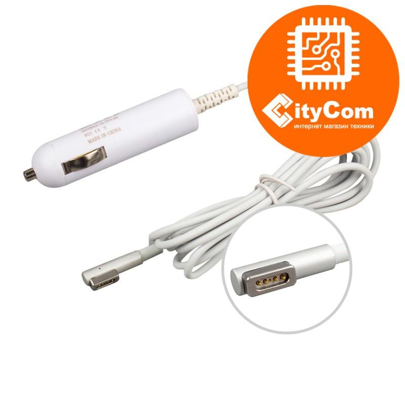 Автомобильное зарядное устройство для Apple Macbook Magsafe 45W Small