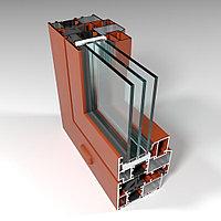 Фасадная алюминиевая система с терморазрывом СИАЛ КПТ74