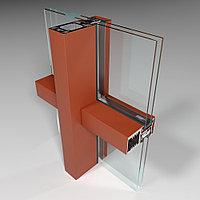 Фасадная алюминиевая система СИАЛ КП50