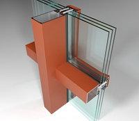 Фасадная алюминиевая система СИАЛ КП50К