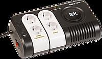 Стабилизатор напряжения переносной SIMPLE 0,75кВА IEK IVS25-1-00750