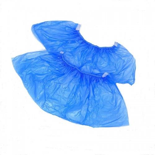 Бахилы яркие 2,8гр: синие 50 пар в упаковке .