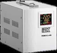 Стабилизатор напряжения переносной PRIME 0,5кВА IEK IVS31-1-00500