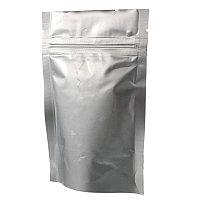 Пакет дой пак металлизированный матовый с замком зип-лок 160Х250+(45+45) мм
