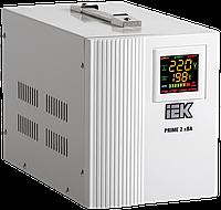 Стабилизатор напряжения переносной PRIME 2кВА IEK IVS31-1-02000