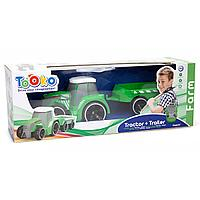 Трактор Tooko на ИК, с прицепом 81490