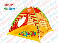 Детский игровой домик-палатка Bestway 68080 (с шариками, размеры 112х112х90 см)