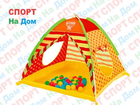 Детский игровой домик-палатка Bestway 68080 (с шариками, размеры 112х112х90 см), фото 2