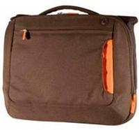 """Сумка для ноутбука 12"""" Belkin up to 12"""" MESSENGER коричневый с оранжевой вставкой."""