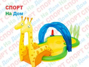"Бассейн надувной игровой ""Зоопарк"" Bestway 53060 (Габариты: 338х167х129 см)"
