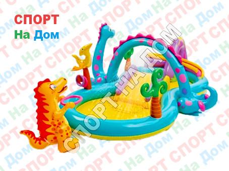 """Детский игровой комплекс INTEX 57135 """"Dinoland"""" (Габариты: 333х229х196 см )"""