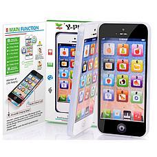 Сенсорный детский телефон, цвет черный, фото 3