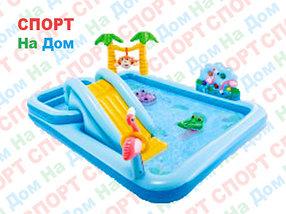 Игровой центр «Приключения в джунглях» Intex 57161NP (Габариты: 257х216х84 см )