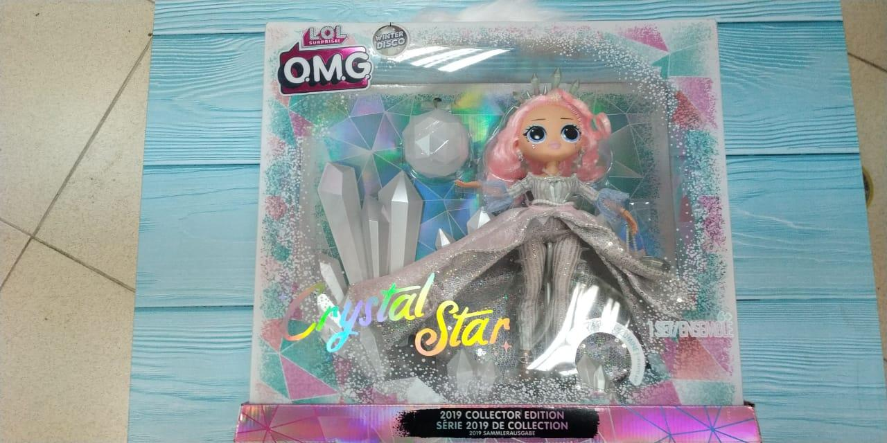 Лол Crystal Star Хрустальная Звезда (коллекционная) L.O.L. Surprise! O.M.G. Winter Disco - фото 3