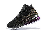 "Игровые кроссовки Nike LeBron XVII (17) ""Lakers"" (36-46), фото 2"