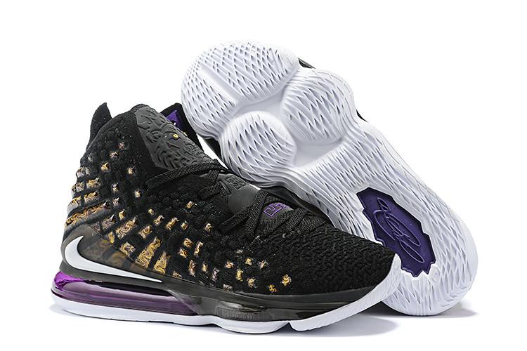 "Игровые кроссовки Nike LeBron XVII (17) ""Lakers"" (36-46)"