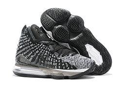 "Игровые кроссовки Nike LeBron XVII (17) ""Black/White"" (36-46)"