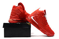 "Игровые кроссовки Nike LeBron XVII (17) ""Red"" (36-46), фото 3"