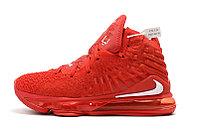 "Игровые кроссовки Nike LeBron XVII (17) ""Red"" (36-46), фото 2"