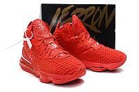 "Игровые кроссовки Nike LeBron XVII (17) ""Red"" (36-46), фото 5"