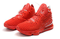 "Игровые кроссовки Nike LeBron XVII (17) ""Red"" (36-46), фото 6"