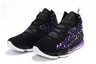 """Игровые кроссовки Nikе LeBron XVII (17) """"Black/Purple"""" (36-46), фото 3"""