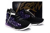 """Игровые кроссовки Nikе LeBron XVII (17) """"Black/Purple"""" (36-46), фото 5"""
