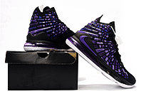 """Игровые кроссовки Nikе LeBron XVII (17) """"Black/Purple"""" (36-46), фото 6"""