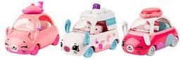 Три Машинки Cutie Cars с мини-фигурками Shopkins (3 сезон, в асс.)