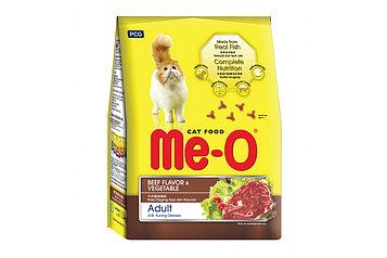Me-О Сухой корм для взрослых кошек со вкусом Говядина и овощи