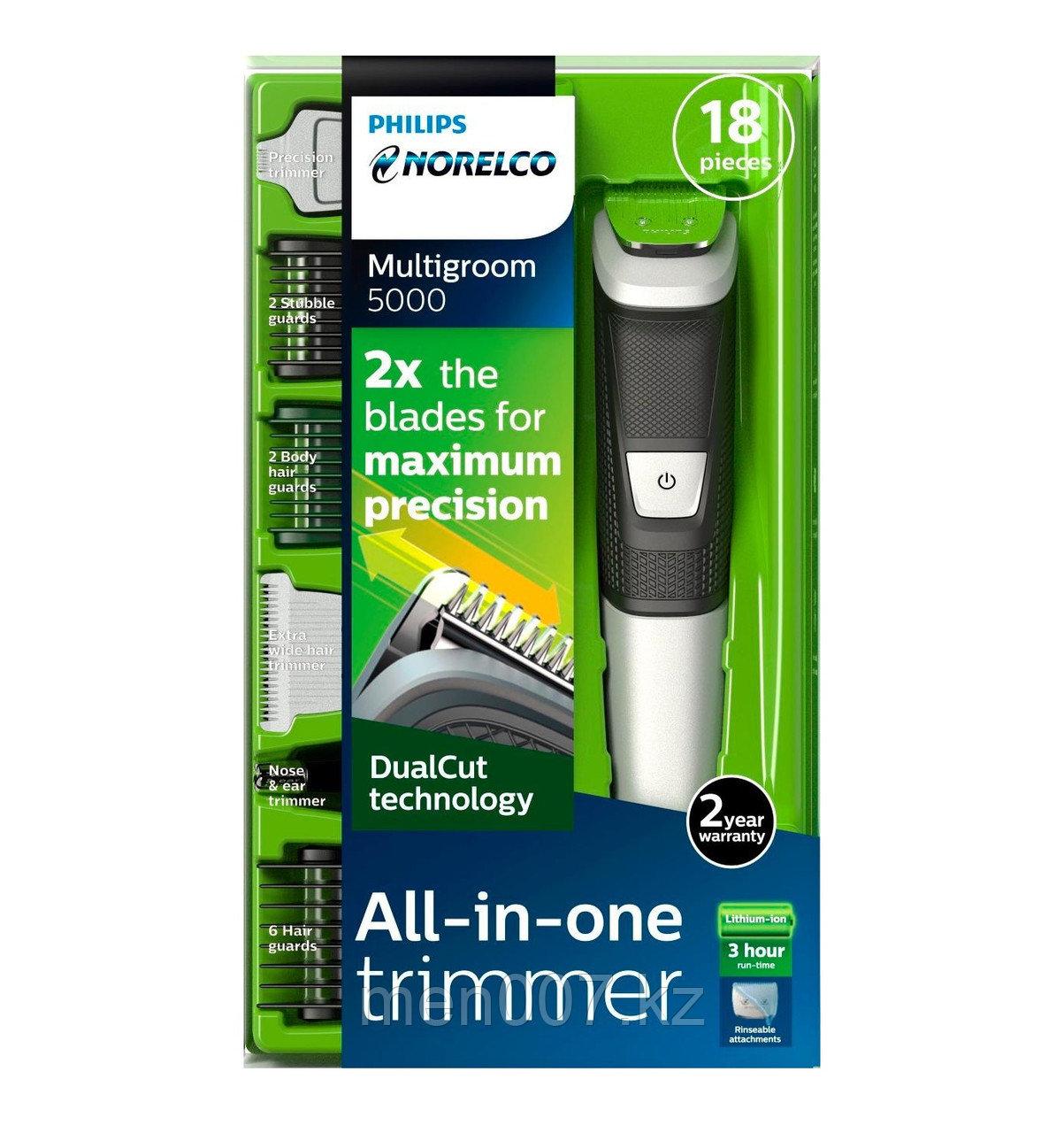 Philips Norelco Multigroom 5000 (Универсальный триммер для волос, бороды, носа и ушей)